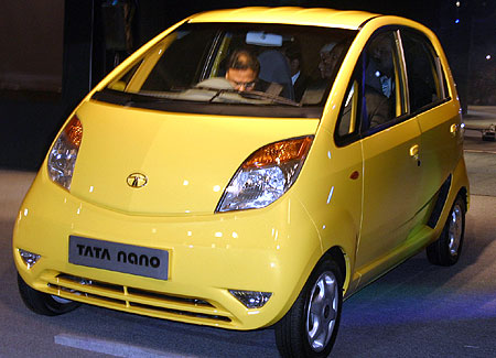 TATA's world's cheapest nano car