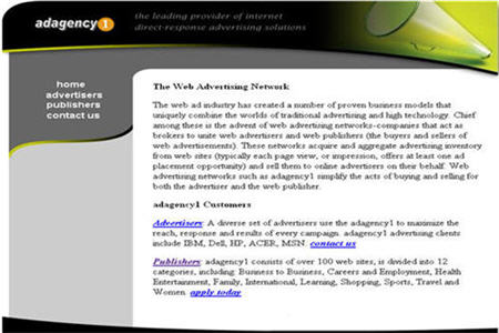 Adagency1 CPM ad network