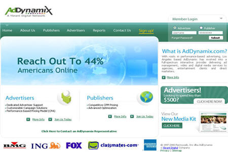Ad Dynamix Good CPM ad network