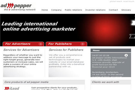 Adpepper CPM ad network