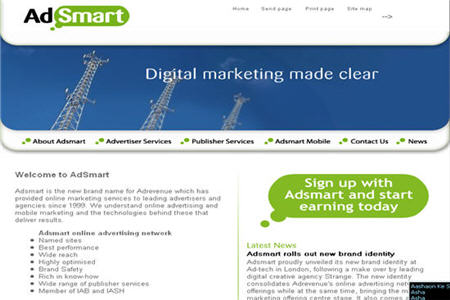AdSmart CPM ad network