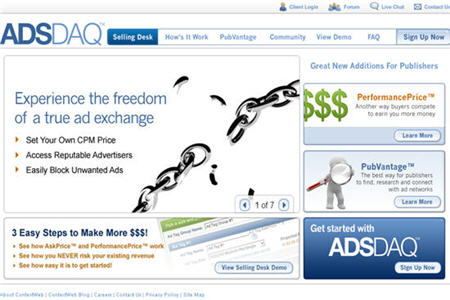 AdsDaq CPM ad network