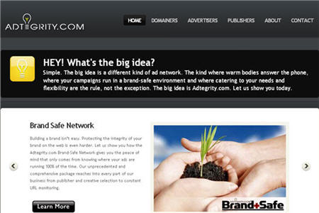 Adtegrity CPM ad network