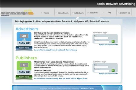 Cubics CPM ad network