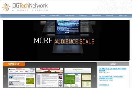 IDG tech Good CPM ad network