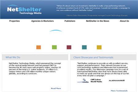 Netshelter CPM ad network