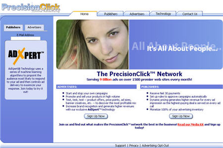 PrecisionClick Best CPM ad network