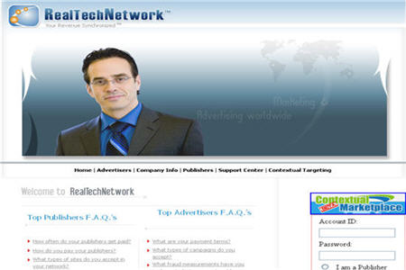 RealTech Network CPM ad network