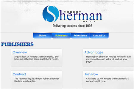 Robert Sherman CPM ad network