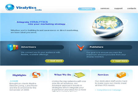Viralytics Media CPM ad network