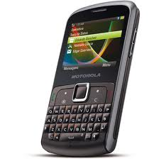 Motorola EX115 dual SIM phone