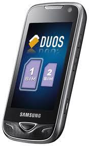 Samsung Star Duos GT-B722 dual sim phone