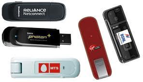 Broadband data cards prices India