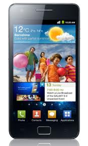 Samsung Galaxy S II Android mobile phone