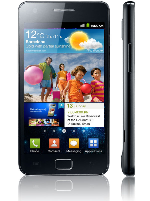 Samsung Galaxy S II India