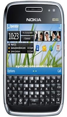 Nokia E6 specifications