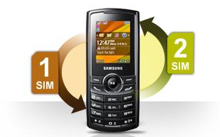 Samsung Hero E2232 dual sim mobile