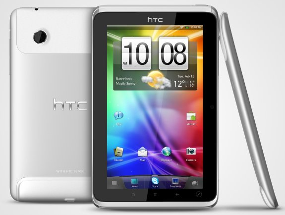 HTC Flyer Tablet specs