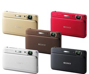 Sony Cybershot DSC-TX55 colors