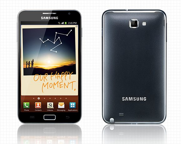 Samsung Galaxy Note design