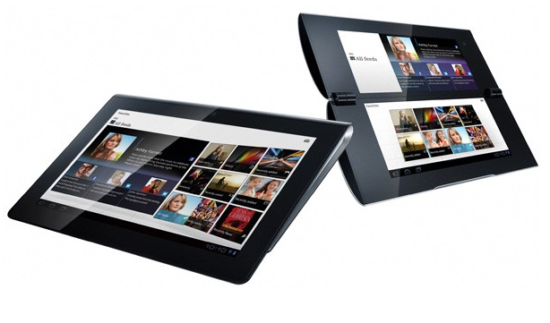 Sony S1 and Sony S2 tablets