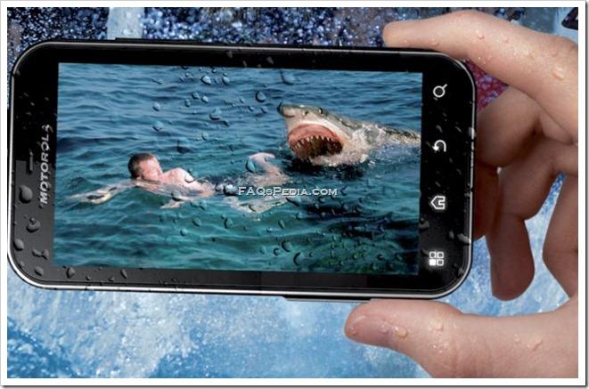 Motorola Defy design