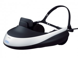 HMZ-T1 Head-mounted 3D Visor
