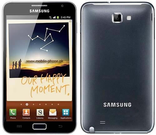 Samsung Galaxy Note N700 review