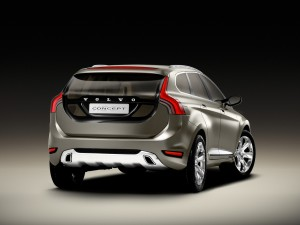 Volvo XC60 rear side